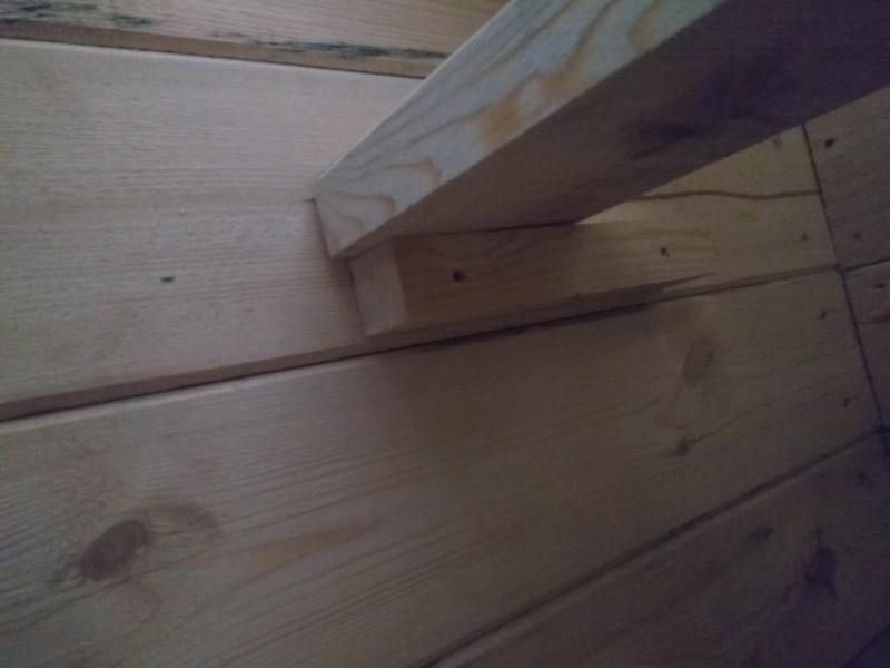 крепление лестницы для погреба