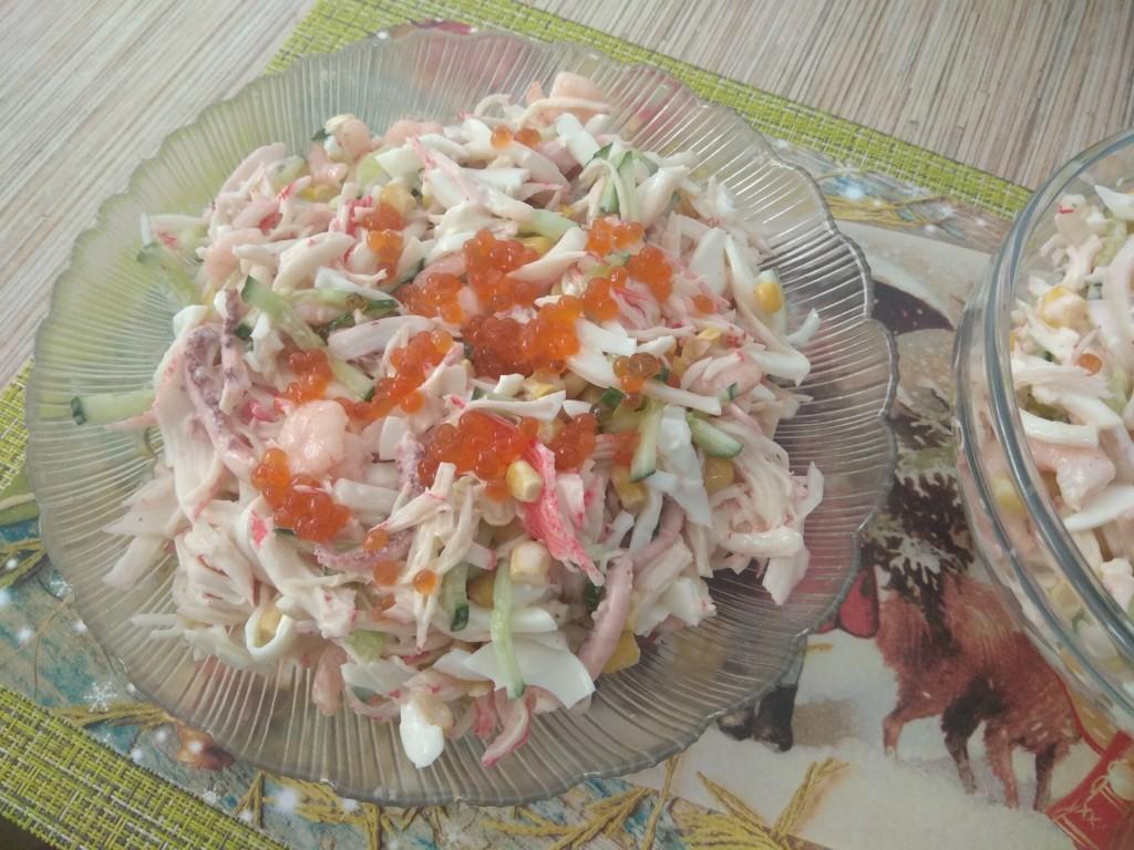 Готовый салат Нептун
