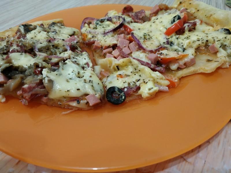 Грибная пицца вкусно и быстро