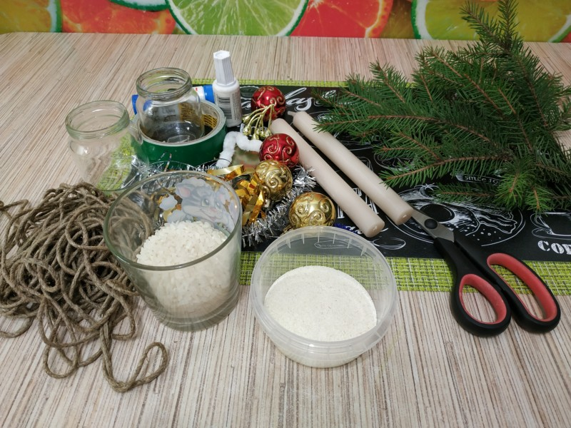 Инструменты и материалы для изготовления подсвечника