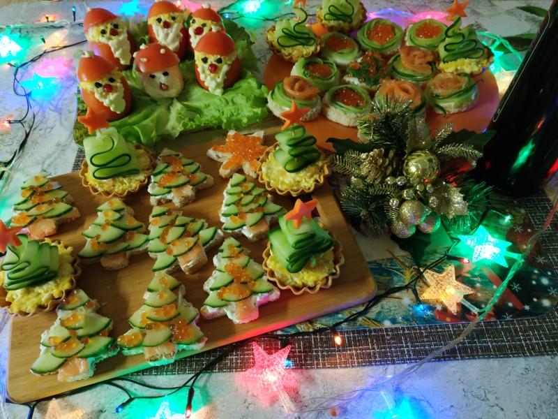 Новые закуски на Новый год 2019 — простые и вкусные фото рецепты