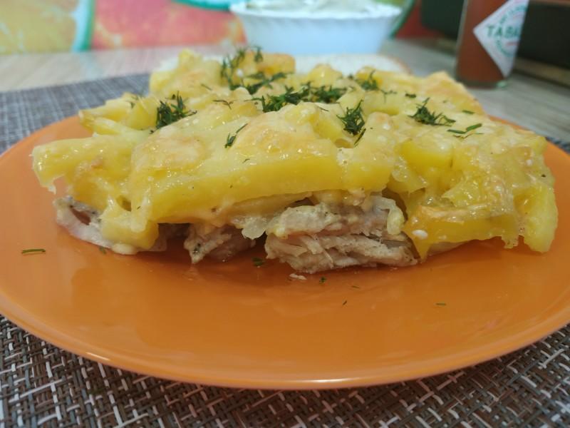 Рецепт мясо по-французски в духовке