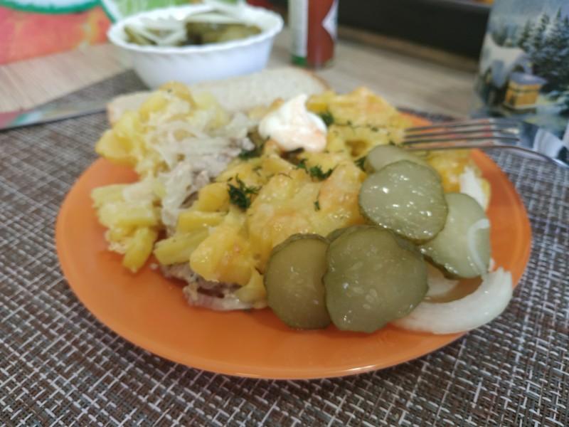 Картошка по-французски в духовке (вариант подачи)