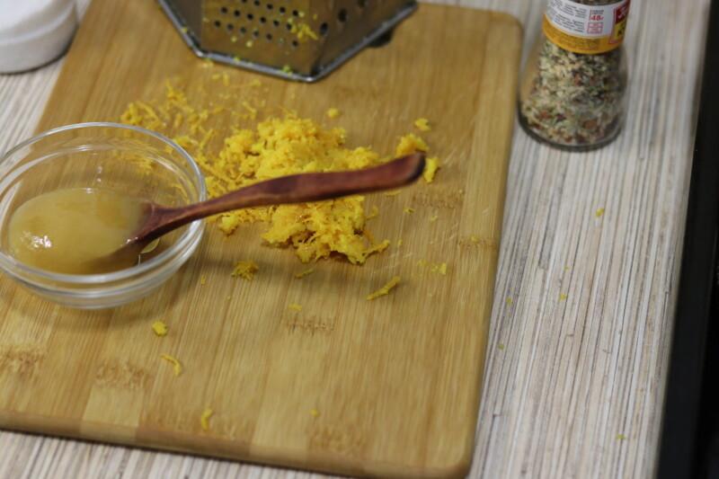 Ингредиенты для запекания праздничного гуся