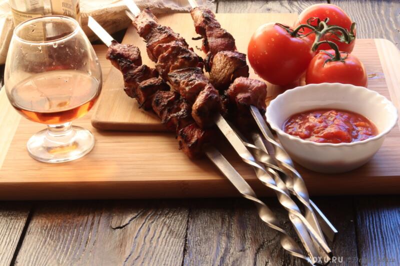 Шашлык из свинины и самый вкусный маринад, чтобы мясо было мягким и сочным