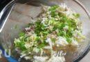 Салат с кальмарами, сыром и яйцом