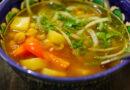 Суп Мохора по-узбекски – рецепт супа из нута с мясом