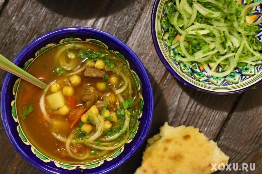 Нохат шурпа - узбекский суп с нутом — Блог Милы